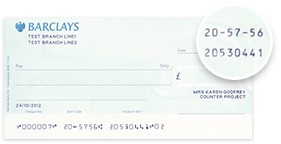 Find Sort Code and Account Number | Barclays