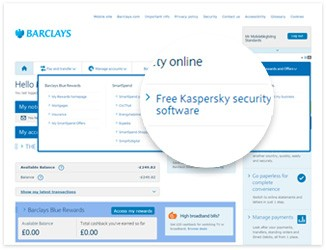 Choose 'Free Kaspersky Security Software' in the 'Safety Online' section and follow the onscreen instructions