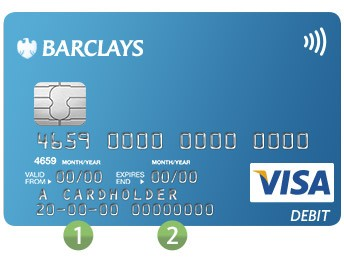 barclays bank account number