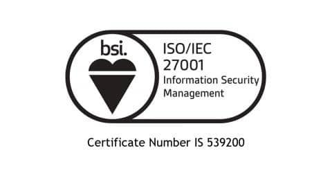 bsi. ISO/IEC 27001. Information Security Management. Certificate Number IS 539200