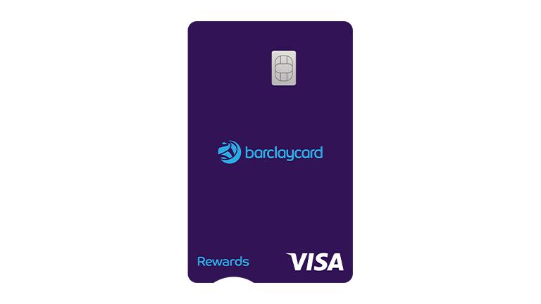 Barclaycard rewards card example