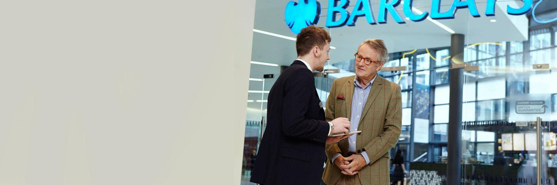 Joining Barclays in branch | Barclays