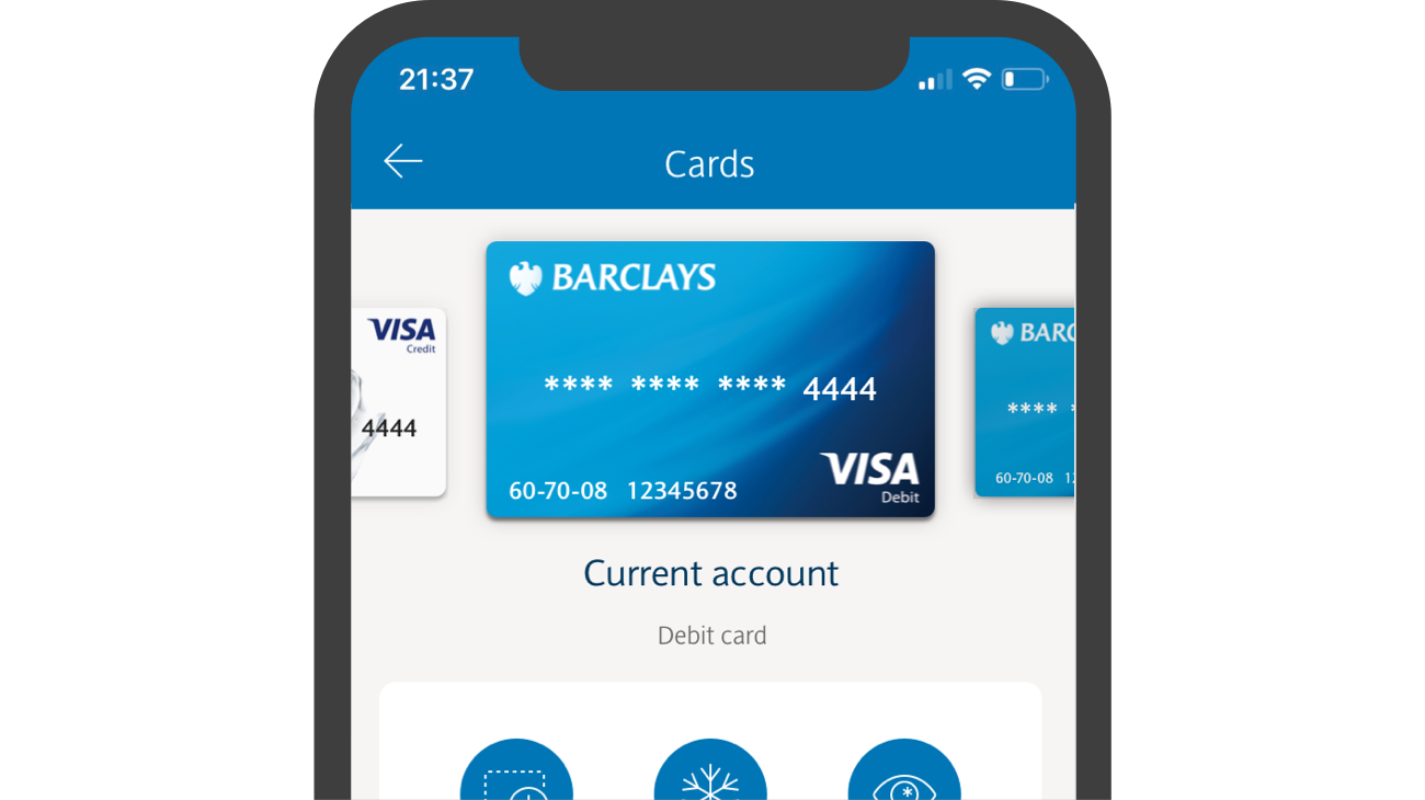 Temporarily freeze your debit card if you can't find it, set a daily limit for cash-machine withdrawals