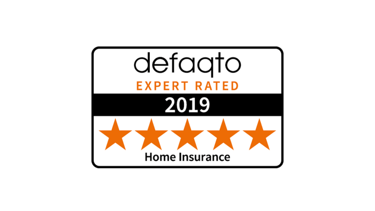 Defaqto, expert rated Home Insurance, for 2018.