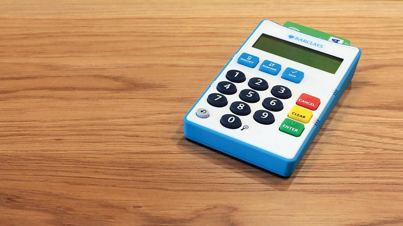Audio Accessible PINsentry Card Reader | Barclays